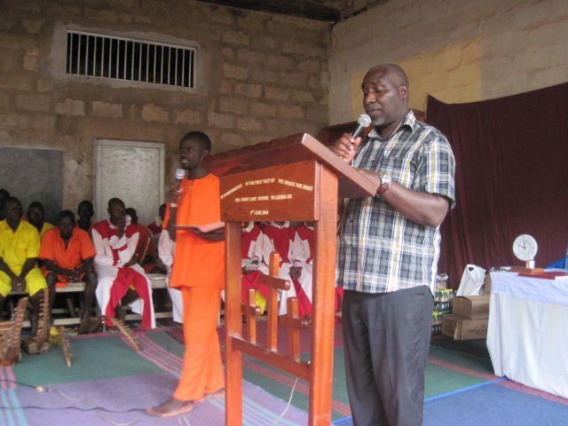 Predigt von Pastor Ambale