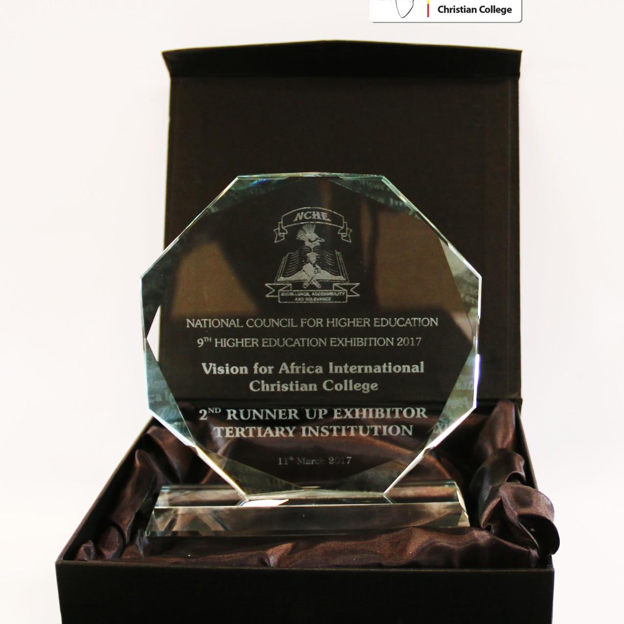 2. Platz Glas Award