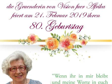 """Mama Maria"" feiert ihren 80. Geburtstag!"