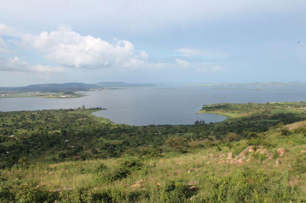 Blick auf den Lake Victoria
