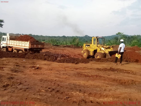 """Land clearance of the future """"Talent Academy"""" going on"""