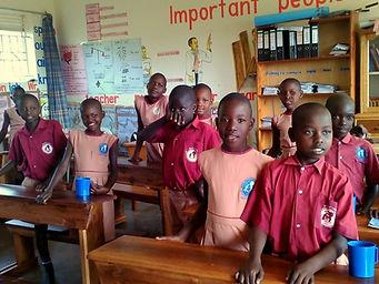 Schulkinder Kikondo