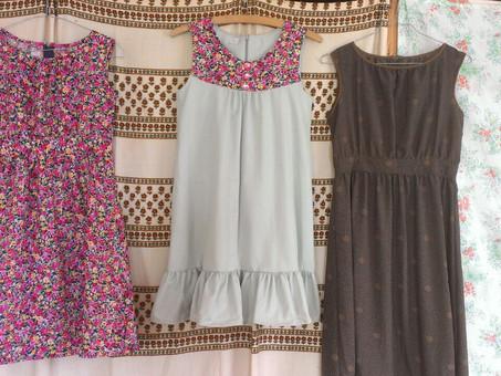 Kreativwerkstatt: Babykleidchen aus Reststoffen
