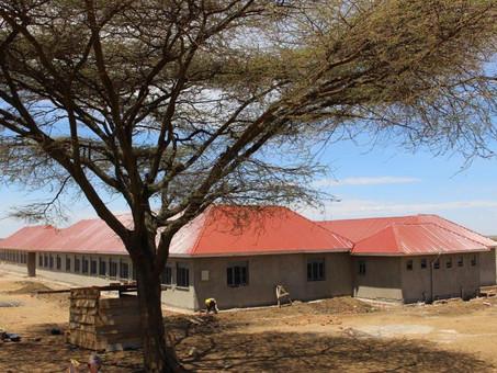Baufortschritt in Karamoja selbst in Augenschein genommen