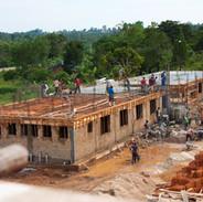 Lehrerwohnungen im Bau