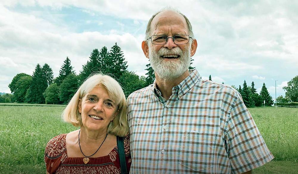 Ehepaar Inge & Hans-Dieter Sturz