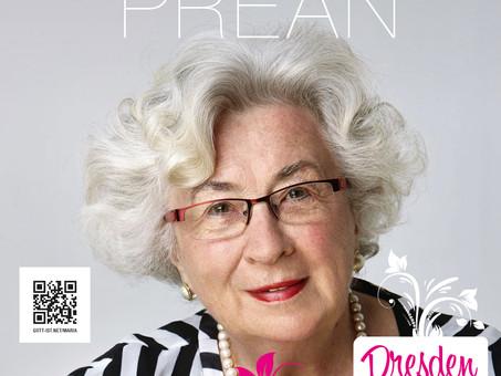 Maria Prean in Dresden, 20.-22. März 2020