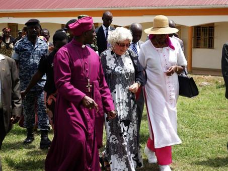 Einweihung der Nyakyera Girls Secondary School