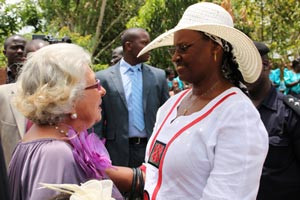 Besuch der First Lady