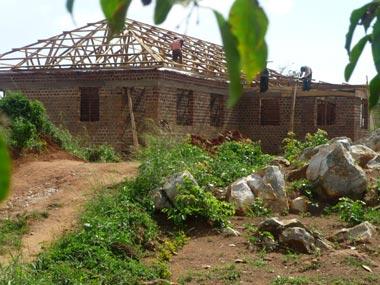 Gebetshaus im Bau