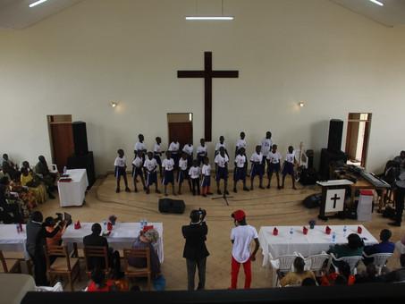 Inauguration of King's Glory Church and girl's dormitory in Kikondo
