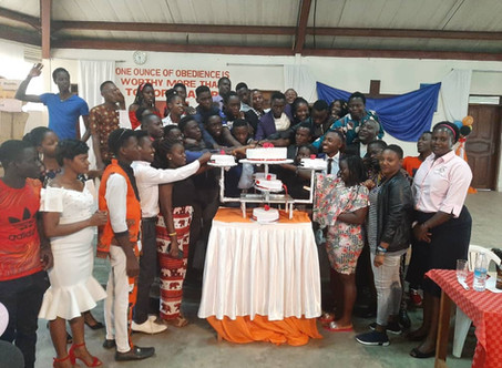 Studentensprecher Übergabe-Zeremonie