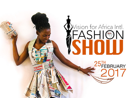 Modenshow in Vision for Africa