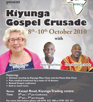 Evangelisationseinsatz in Kiyunga