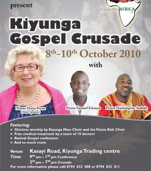 Evangelisationseinsatz in Kiyunga