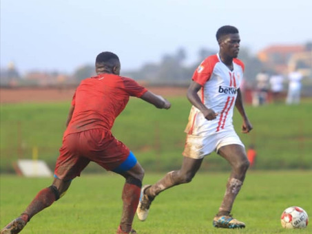 "Vision for Africa Soccer Academy wins against UG best team ""Express FC"""