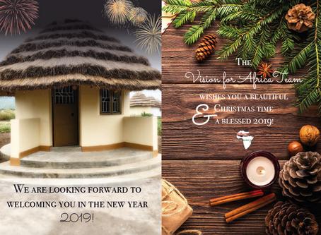 Wir wünschen euch frohe Weihnachten und ein gesegnetes Jahr 2019!