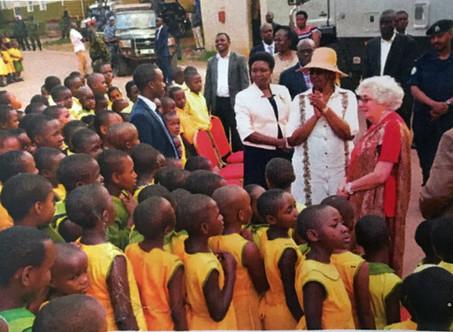 First Lady zu Besuch