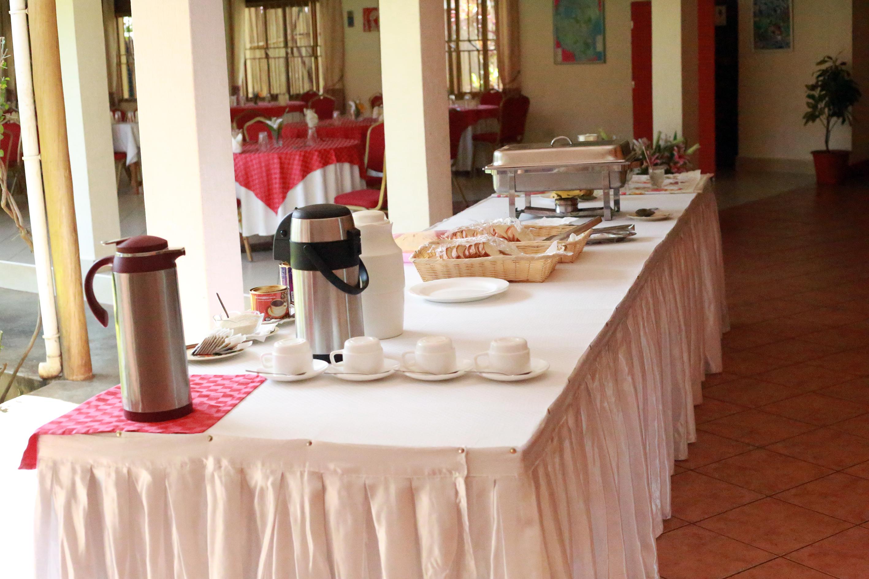Das Hotelbuffet