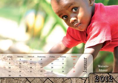 Vision for Africa Kalender 2012