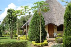 African Village Hotel Garten