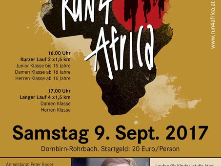 Run4Africa für Vision for Africa mit Samuel Koch