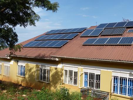 Solaranlage Klinik Tongolo fertig & funktionierender Brutkasten für Frühgeburten