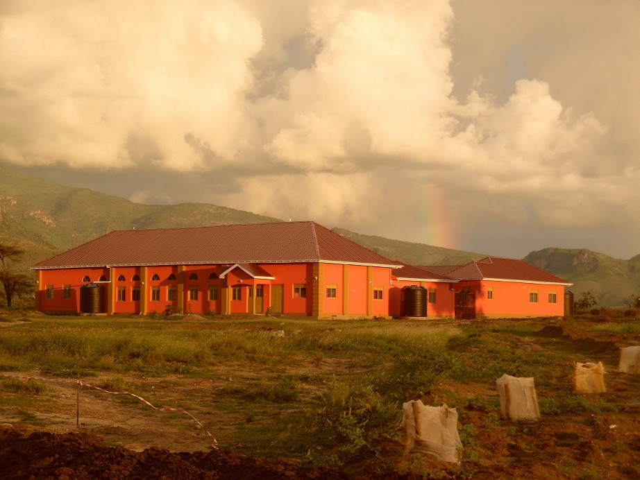 The new Nursery school building in Karamoja