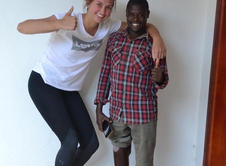 ProUganda schenkt ein neues Lebensgefühl mit Prothesen und Orthesen