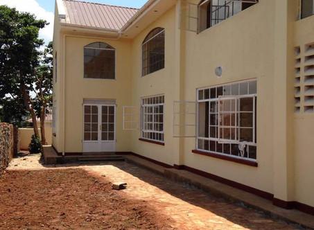 Bauprojekt fertig: Kirche in Kikondo