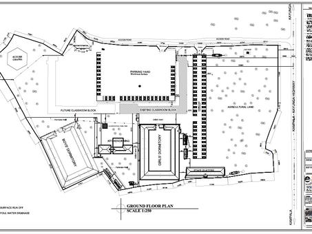 Plan der Sekundarschule