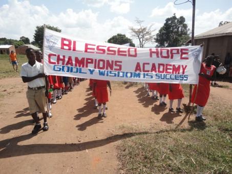 Guter Sport bei Vision for Africa Intl.