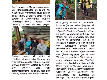 Journey - Ein Abenteuer mit Gott. Volontäre berichten.