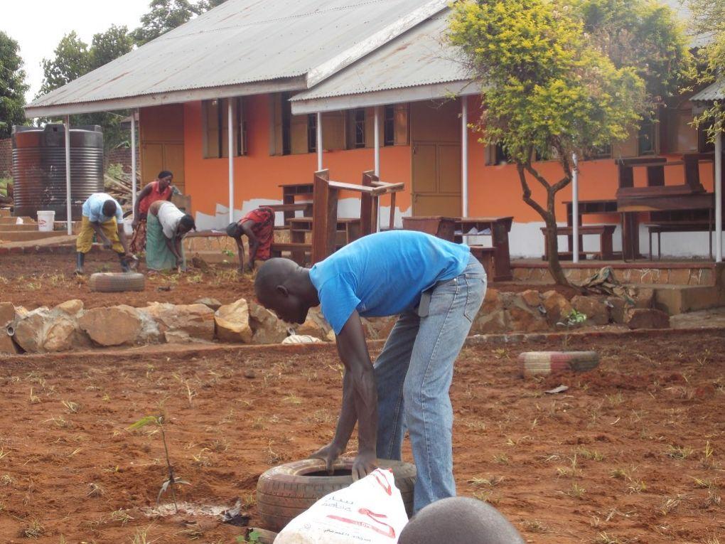 Renovierung der Klassenräume