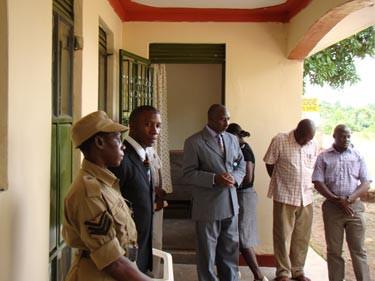 Eröffnung der neuen Polizeistation