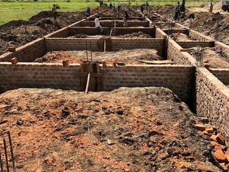 Aktuelles Bauprojekt: Internat für Karamoja