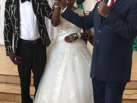Wedding Bells ringing in our blind community Kikondo