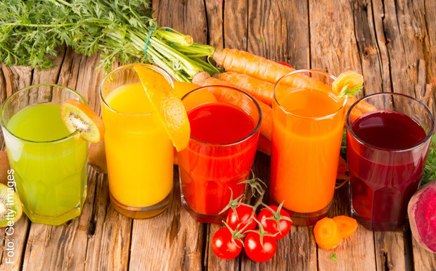 Sucos para curar a anemia