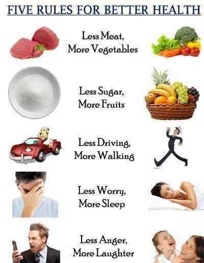 Tenha Hábitos saudáveis, sua saúde agradece!