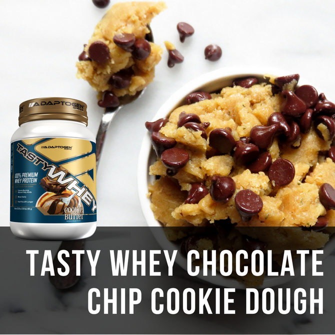 Tasty Whey Cookie Butter Cookie Dough