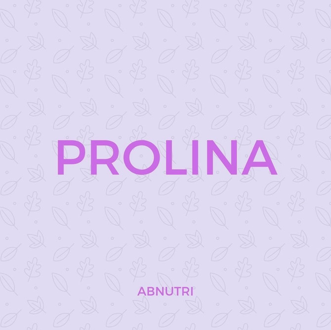 Também conhecida como L-prolina por sua estrutura molecular: