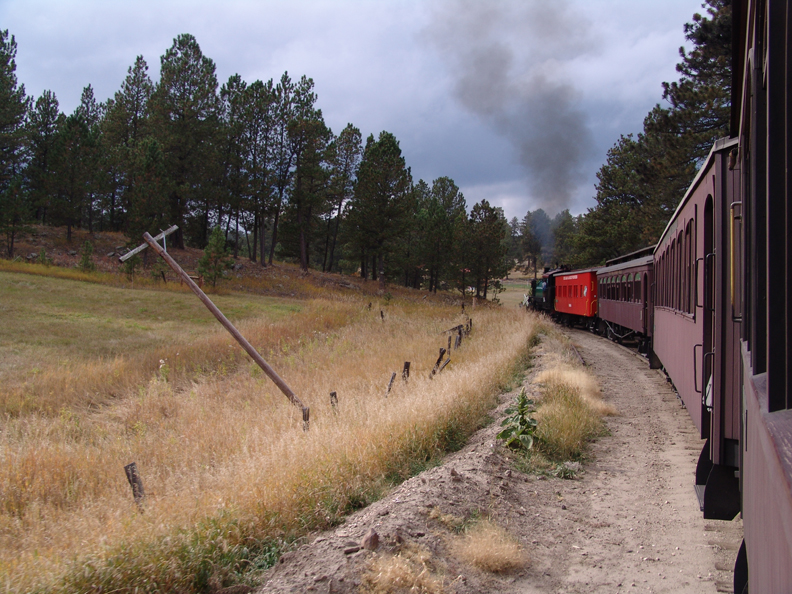 1888 Train from Hill City to Keystone