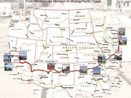 ROUTE 66 - The Mother Road of America