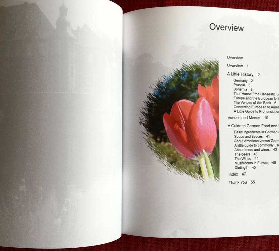 Guten Appetit, A delicious Journey Through Another Germany by Ute Buehler, Overview