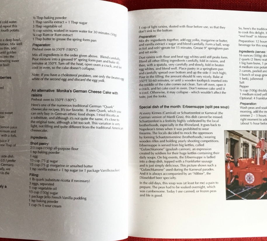 Guten Appetit - A Delicous Journey Through Another Germany, Duesseldorf Recipes