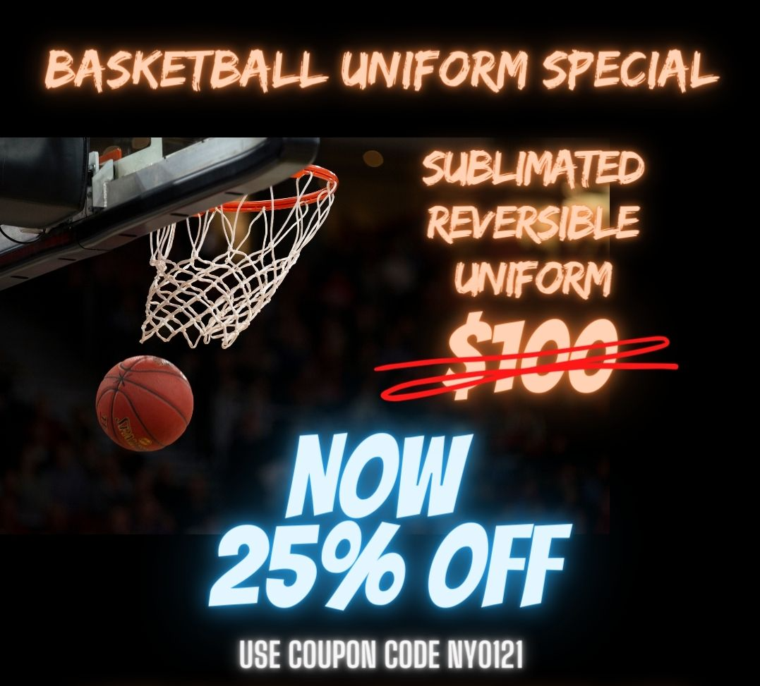 SUBLIMATED BASKETBALL UNIFORM SPECIAL JP