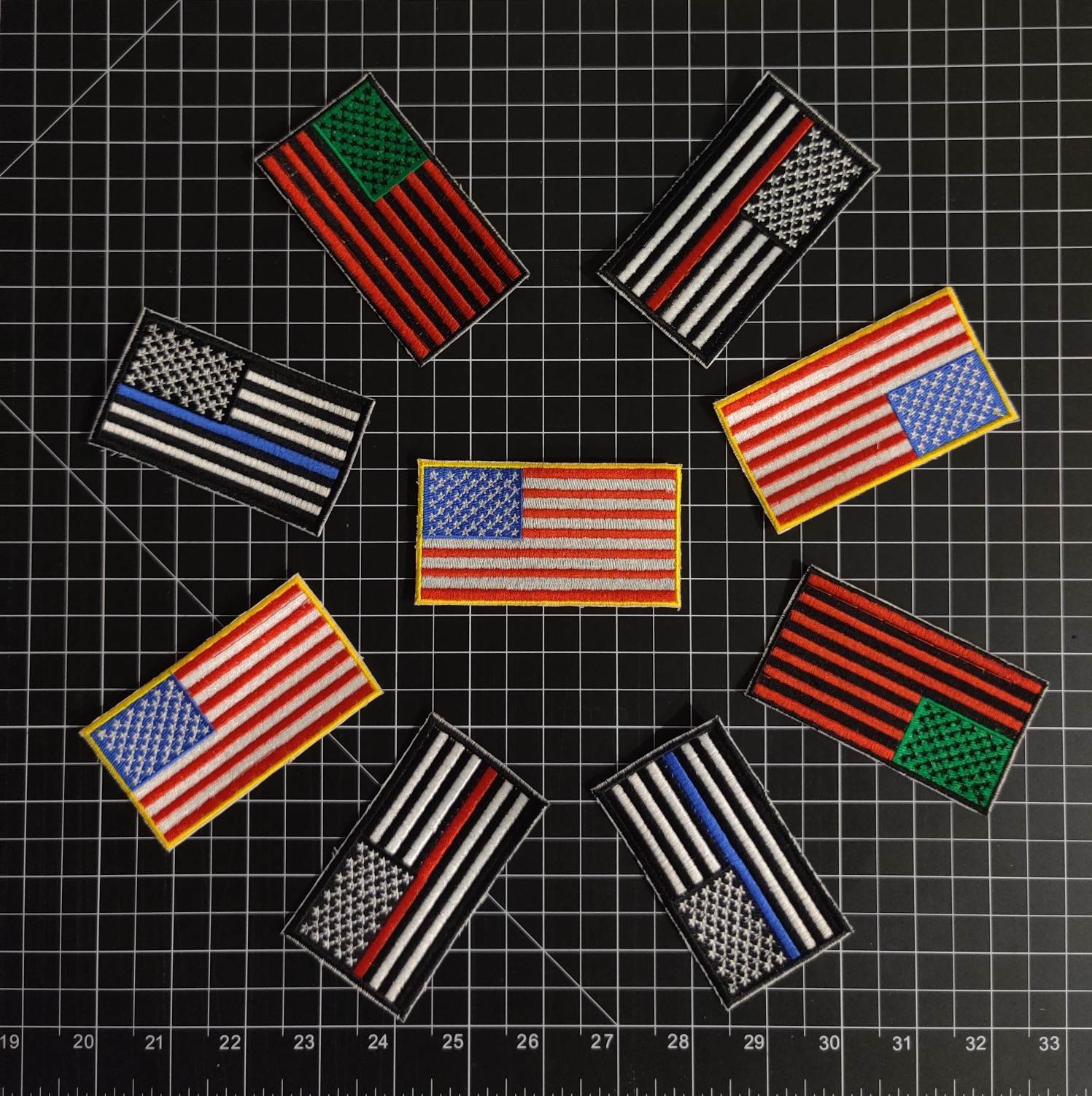 FLAG PTCHES