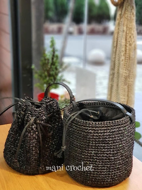 桶包 Bucket bag 버킷백 #Black Bucket bag