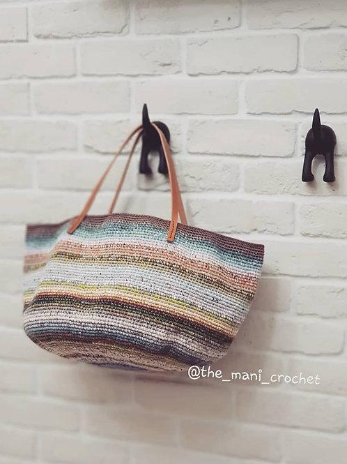 무지개가방_Rainbow Bag(彩虹手提包)