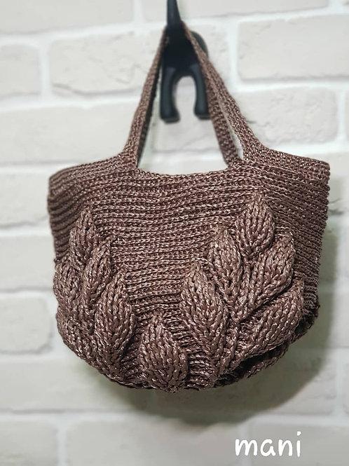 亮片包 / Sequin bag / 나뭇잎 가방